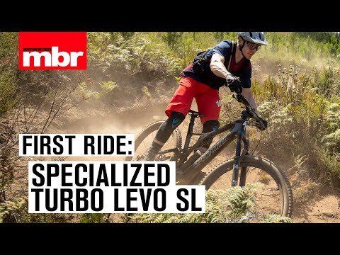 Lightest e-bike Ever! Specialized Turbo Levo SL First Ride | Mountain Bike Rider