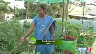 Rooftop Vegetable Gardening Guide | Poovali | News7 Tamil