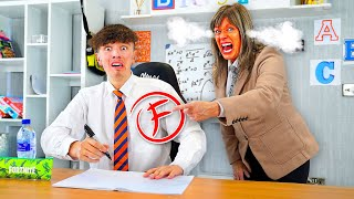 I Sent Morgz Back to School for a Day - Challenge