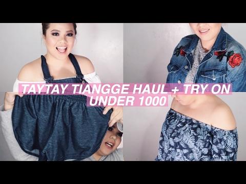 Taytay Tiangge Haul Mura Na Plus Size Friendly Pa