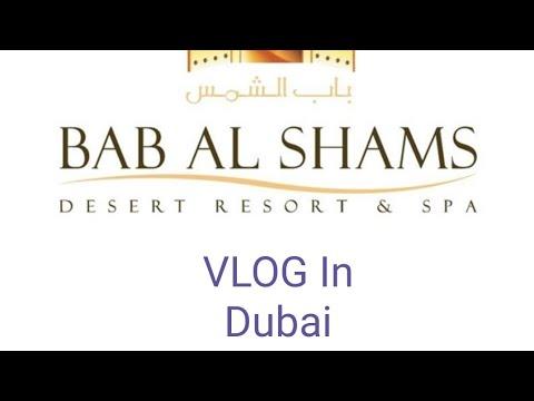 BEST LUXURY HOTEL IN THE DESERT Of DUBAI - Bab Al Shams - Dining At Al Forsan Restaurant