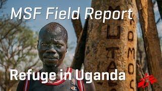 South Sudanese Take Refuge in Uganda