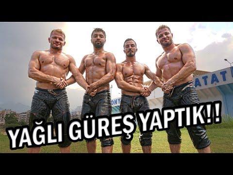 ŞAMPİYON GÜREŞÇİLERE KAFA TUTTUK !!