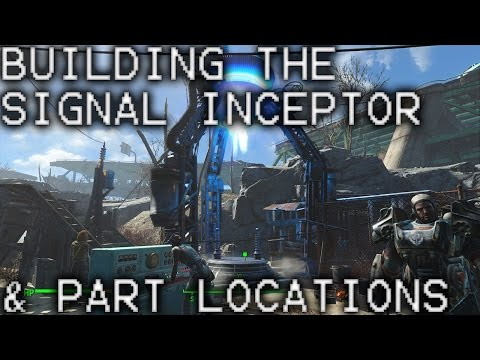 Fallout 4 Building the Signal Interceptor and finding the parts! Molecular Level Guide