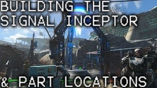 Fallout 4 Building the Signal Interceptor and finding the parts Molecular Level Guide