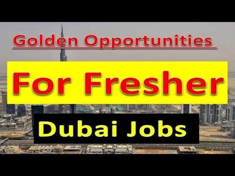Dubai New Fresher Jobs With Good Salary Free Jobs In UAE 2019 Apply Now | Hindi Urdu |