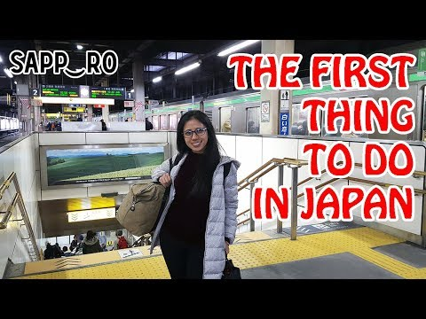 How to Get a Tourist Map at JR Sapporo Station | Japan Vlog