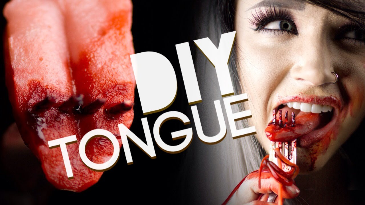 How to make a fake tongue- Special FX Gelatin Tutorial - YouTube