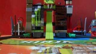 Лего ниндзяго Крепость Веномари! Видео обзор!(Здравствуйте! И снова я выкладываю видео о лего ниндзяго!-Бестрашный воин!*, 2013-08-14T14:39:21.000Z)