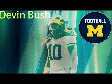 "Devin Bush Michigan Football Highlights MIX |""Animals""|"