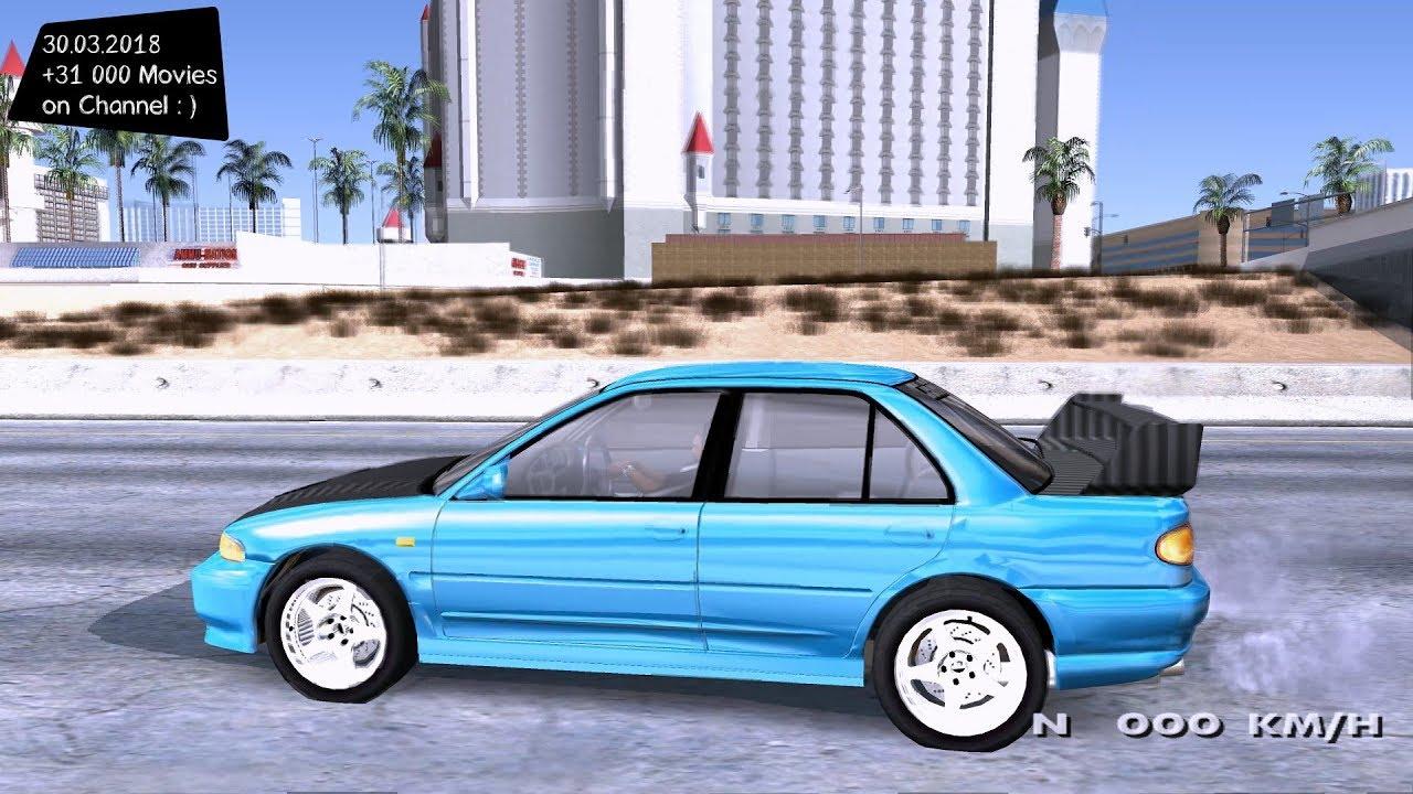 Mitsubishi Lancer Evolution III Grand Theft Auto San Andreas GtaInside