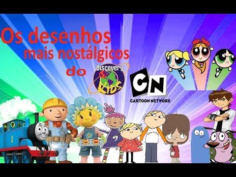 Os Desenhos Antigos Do Discovery Kids E Do Cartoon Network