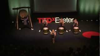 Kagemusha Taiko Drummers 2nd performance at TEDxExeter