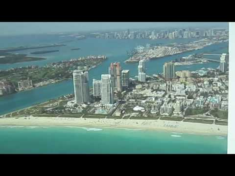 Flying the Cirrus SR20 from Fort Lauderdale to Miami and back