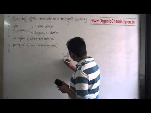 Reducing agents coomonly used in organic chemistry