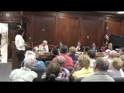 2013-6-12 Burlington County NJ Freeholder Meeting