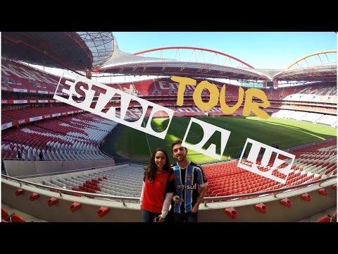 Tour no Estádio da Luz - Benfica