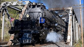 Big Boy 4014 Steam Train: Return To Steam!