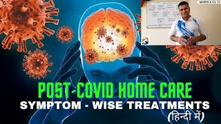 Covid 19 -Treat Post Covid Symptoms at Home