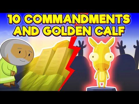 10 Commandments And Golden Calf L God's Story