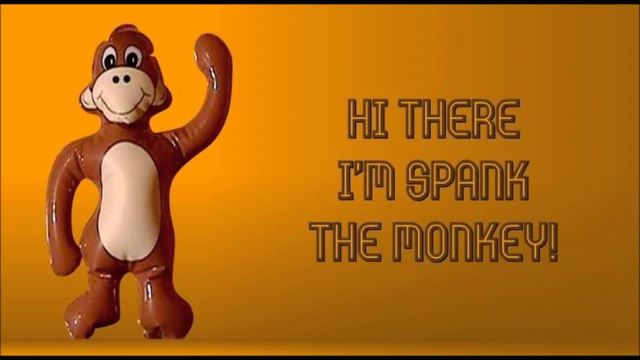 Question not monkey spank toy theme, will