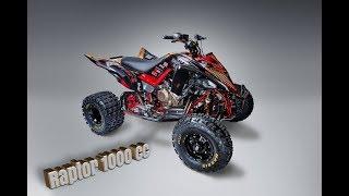 Yamaha Raptor 1000cc 😎💪 🔥Swap engine Honda CRF 1000 Africa Twin /Exhaust sound