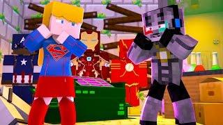 Minecraft: HEROI DO FUTURO - ME APAIXONEI PELA SUPERGIRL #1 ( Nova Serie )