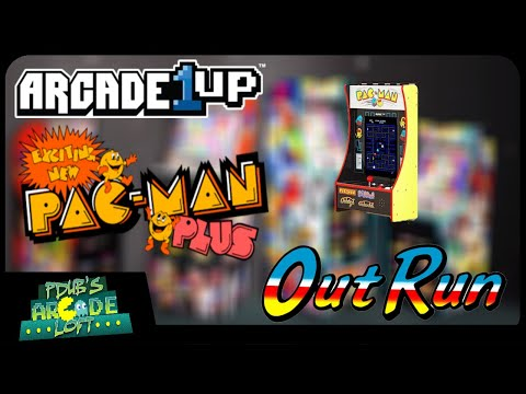 Arcade1Up Pac-Man Plus Cabinet? OutRun & more PartyCades Coming Soon! from PDubs Arcade Loft