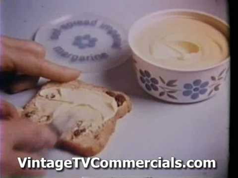 Vintage Imperial Margarine Crown Tv Commercial 80s Youtube