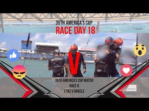 35th America's Cup Match: Race 9 Favourite moments