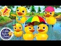 Five Little Ducks | KARAOKE for Kids + More Nursery Rhymes & Kids Songs | Little Baby Bum