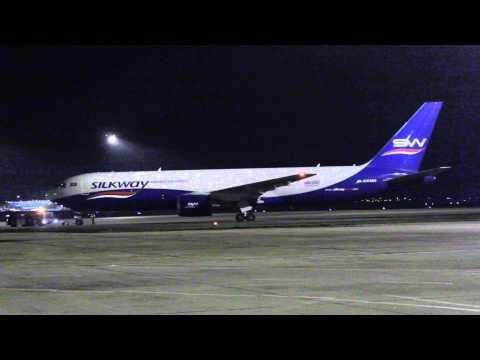 SilkWay Cargo B767 4K-SW880 @ Budapest