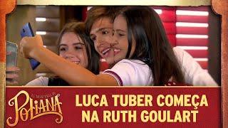 Luca Tuber começa na Ruth Goulart | As Aventuras de Poliana