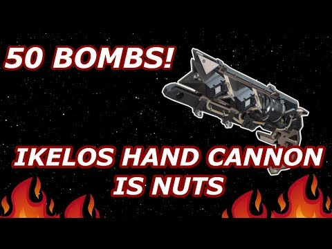 50 BOMBS! IKELOS HAND CANNON IS VIABLE! - PvP - Destiny 2