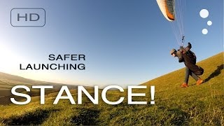 Paragliding Safety: Learn how to use the best launch stance