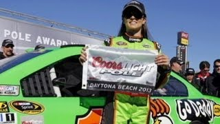 Danica Patrick Wins Pole Position for Daytona 500