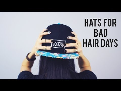 Bad Hair Days: Snapbacks & Beanies  |  sarahhtranTV