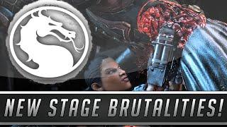 Mortal Kombat X: Secret Kove Stage Brutality + All Blanche Stage Brutalities! (Mortal Kombat 10)