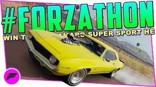 #FORZATHON Going The Distance (FORZA HORIZON 3)Win the '69 Camaro Super Sport HE