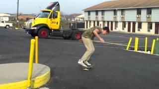 Weirdest Kickflip Ever