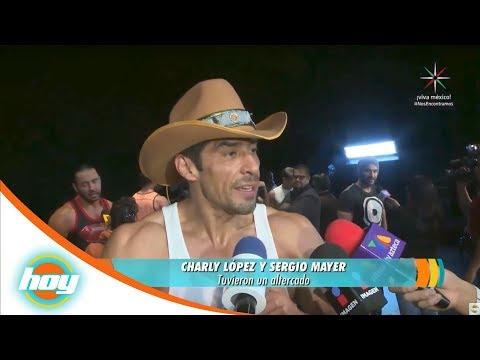 Charly López pelea con Sergio Mayer | Rápidas y Curiosas | Hoy