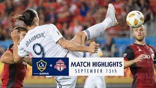 HIGHLIGHTS: Toronto FC vs. LA Galaxy   September 15, 2018