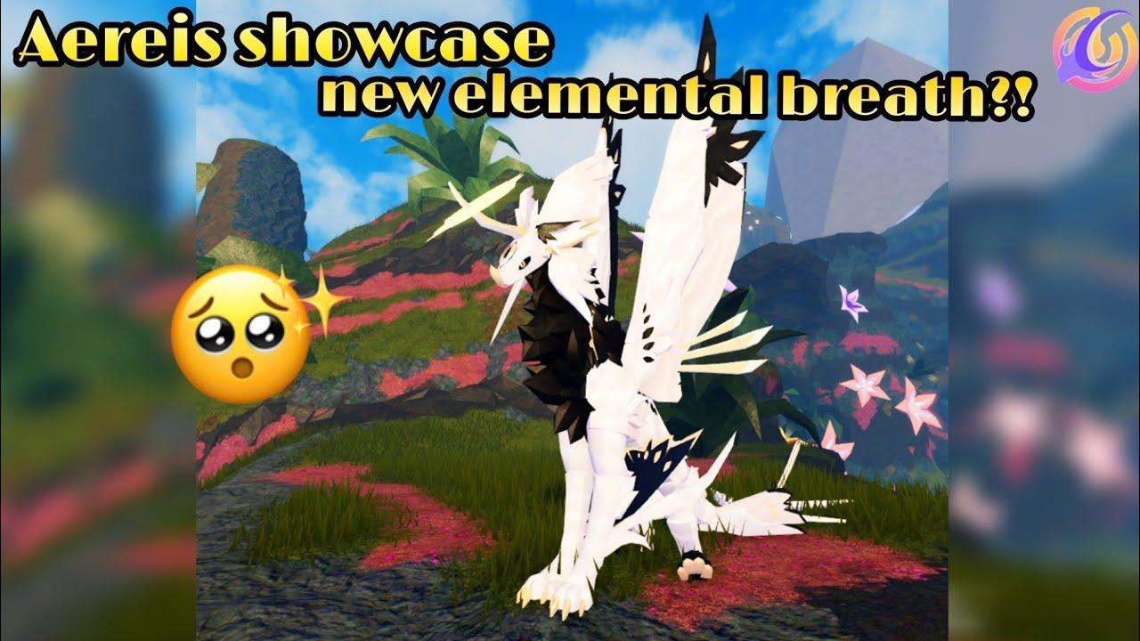 Download Aereis showcase│Yt creature showcase│new elemental breath│Creatures of Sonaria ---- Roblox