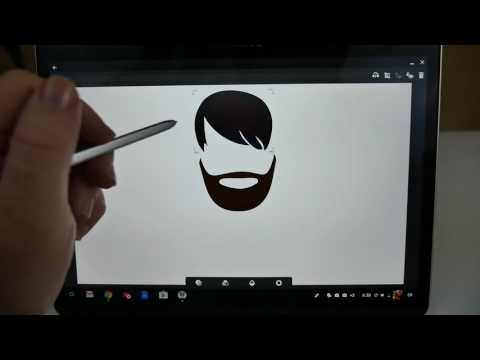Samsung Chromebook Plus Drawing With Stylus