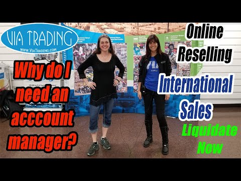 Why do I need an Account Manager? Liquidate Now? Online Reselling