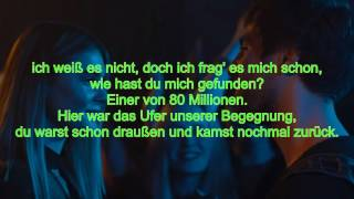 80 Millionen - Max Giesinger Orginal Lyrics