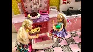 Barbie Bedroom Evening Routine Chelsea!!