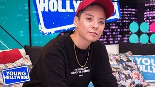 Amber Liu Talks Hands Behind My Back Video & Gives Dating Advice