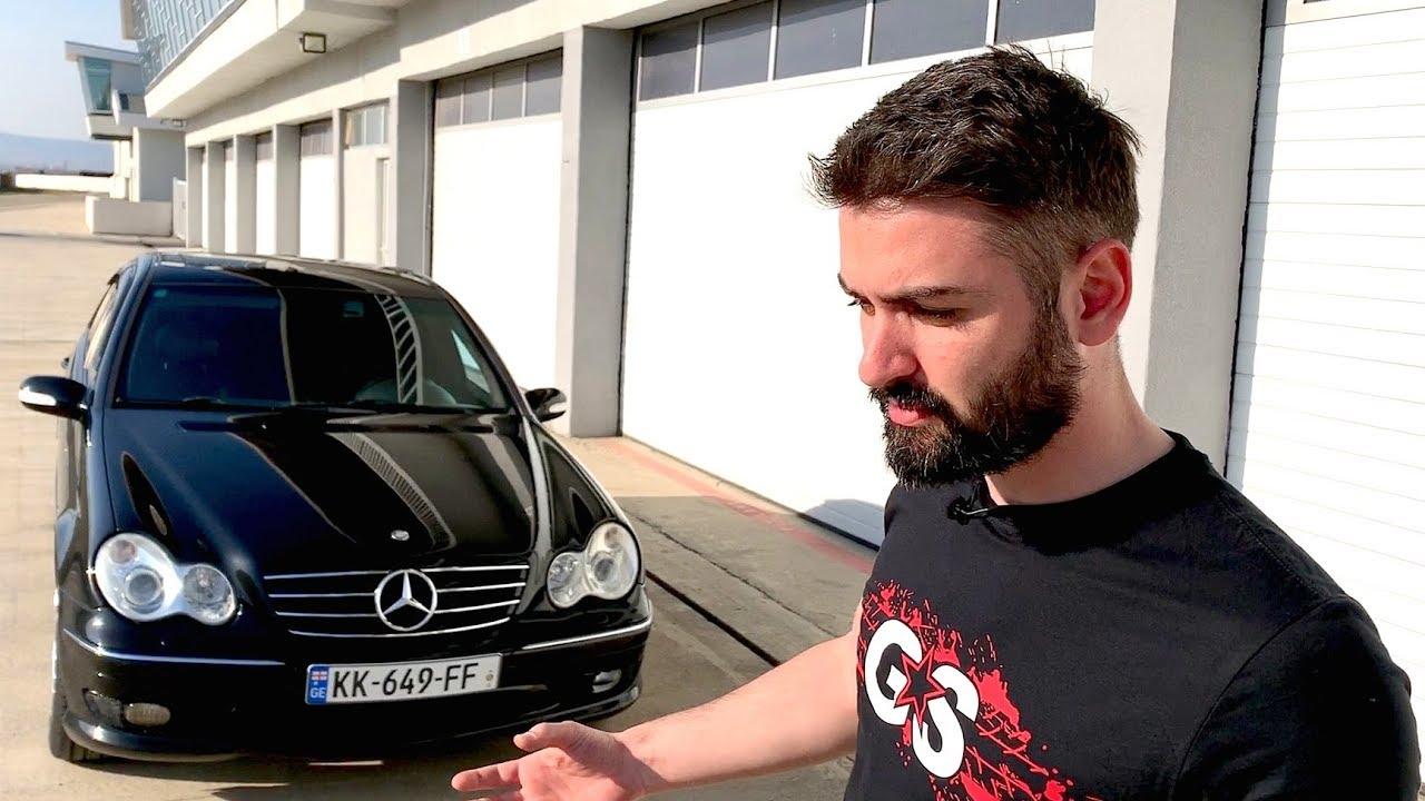 უხეში ტესტ დრაივი  Mercedes C32 AMG  მოულოდნელი შესაძლებლობები