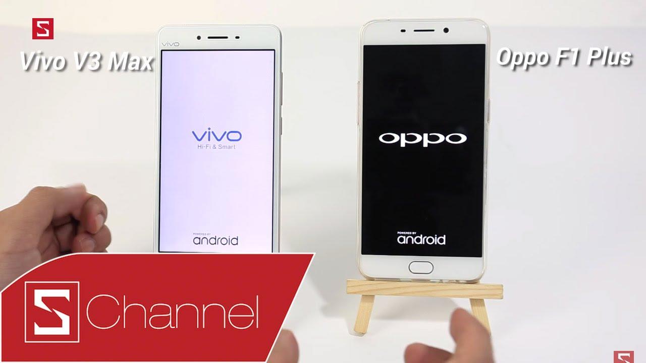 """Download Schannel - Speedtest Vivo V3 Max vs Oppo F1 Plus: Cùng sở hữu RAM """"khủng"""" 4GB, máy nào sẽ mạnh hơn?"""
